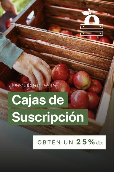 banner cajas de suscripcion 25% de descuento